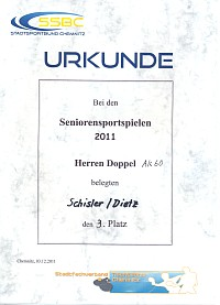 Seniorensportspiele 2011