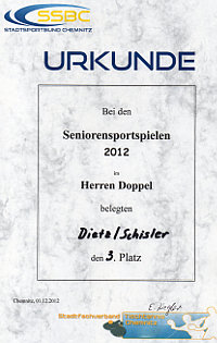 Seniorensportspiele 2012